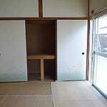 和室6帖(ゴザは畳焼け防止の為)