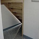 洗濯機置き場 階段下物置スペース